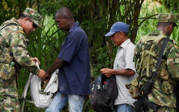 El cantón San Lorenzo registra unos 58.000 habitantes. Foto: AFP