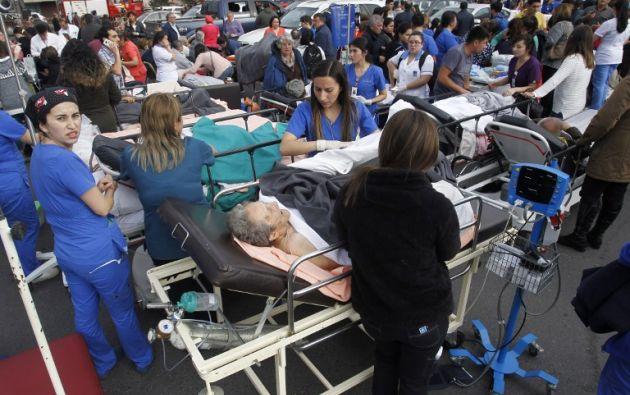 Tres muertos y unos 50 heridos en una explosión en Chile. Foto: AFP