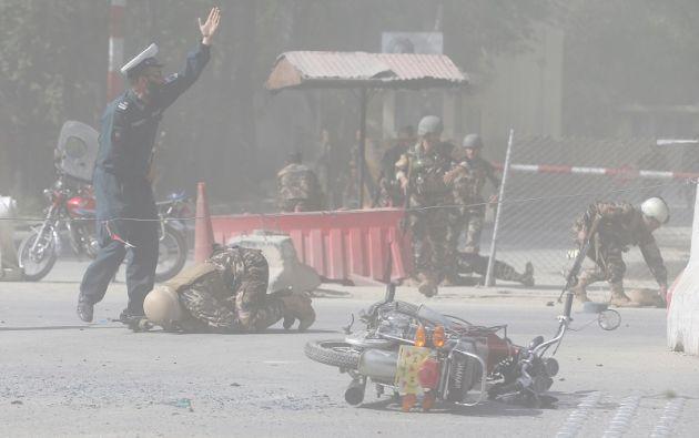Los periodistas y los medios que trabajan en Afganistán son objeto habitual de los ataques de los grupos insurgentes. Foto: Reuters