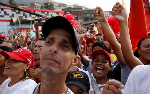 """""""Claro que tenemos la fuerza para ganar y vamos a ganar, pero tenemos que afinar nuestra maquinaria para garantizar los votos"""", dijo Maduro. Foto: Reuters"""