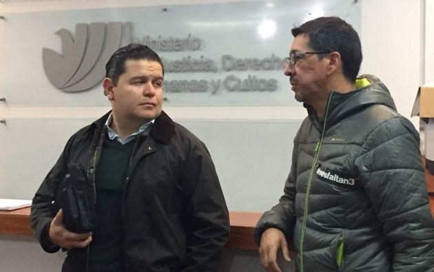 """""""Vamos a ver cuál es la posición del gobierno y nosotros haremos las puntuaciones correspondientes"""", dijo Rivas. Foto: @panchogarces"""