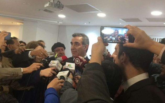 QUITO, Ecuador.- El titular del Consejo de la Judicatura enfatiza que han cumplido todas sus funciones. Foto: Twitter Judicatura