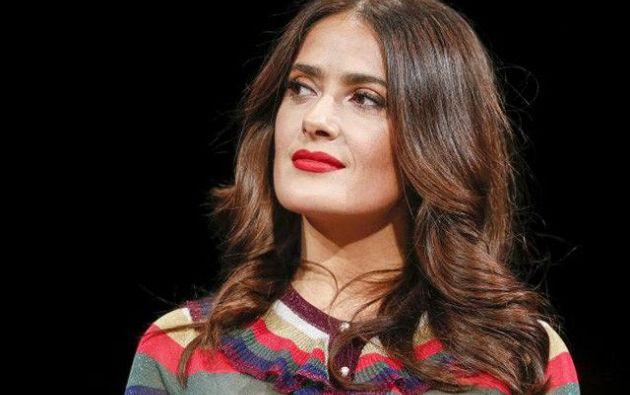 Salma Hayek reclamó este domingo a los actores de Hollywood que acepten rebajarse los sueldos en pos de la igualdad con las actrices. Foto: Archivo - Reuters