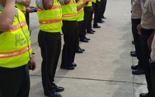 Datos de la Policía muestran que el uniformado se dedicaba a la vigilancia comunitaria. Foto: archivo