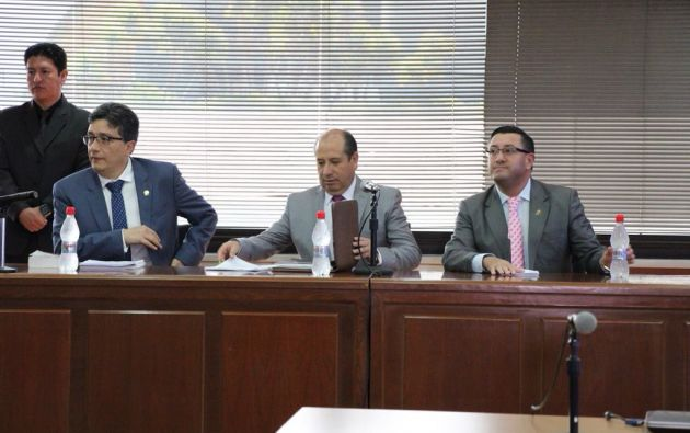 En los alegatos de apertura, la máxima autoridad de la Fiscalía explicó que Carlos Pólit habría exigido a Odebrecht un total de USD 10.1 millones. Foto: Fiscalía