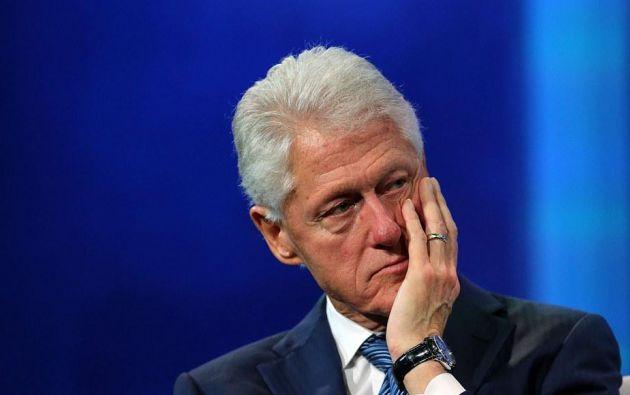 """""""Lidié con esto hace 20 años"""" y """"desde entonces he intentado hacer un buen trabajo, con mi vida y con mi obra"""", sostuvo Clinton. Foto: archivo AFP"""