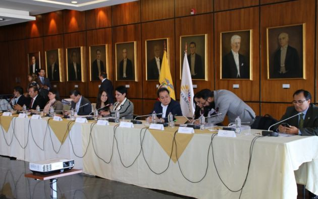 Comisión remitirá a Fiscalía expediente de juicio político a Jalkh y vocales de Judicatura. Foto: Fiscalización AN