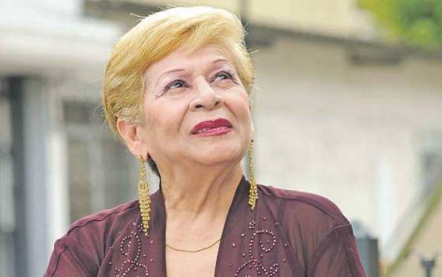 La cantante ecuatoriana tuvo un recorrido de más de medio siglo en el mundo de la música. Foto: Twitter