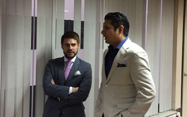 Balda dijo que pedirá que la magistrada solicite a Interpol que ubique a Correa para que sea traído al país y responda ante la justicia. Foto: @PublicaFM