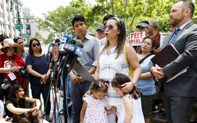 Villavicencio, de 35 años, fue detenido el 1 de junio mientras atendía un pedido en la base Fort Hamilton, en Brooklyn.