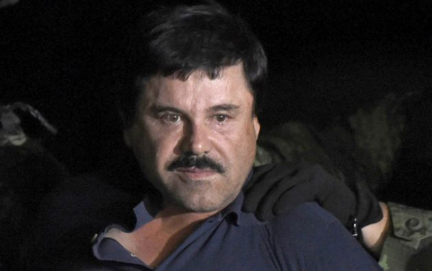 """La extradición supone un revés para """"El Chapo"""", pues López es """"un potencial testigo clave"""". Foto: archivo AFP"""