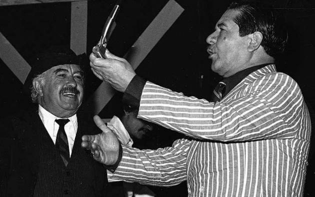 """Fallece el conocido artista Óscar Guerra, """"Sarzocita"""". Foto: Twitter"""
