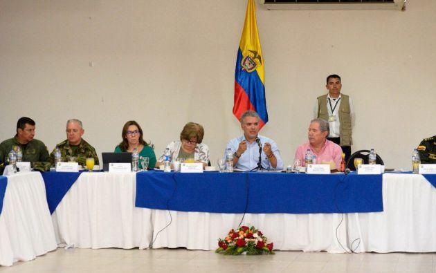 El Gobierno de Iván Duque dio un giro a la política exterior de Colombia. Foto: Iván Duque.