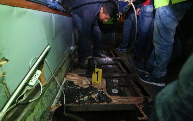 6 detenidos por droga en bus accidentado en Ecuador. Foto: Archivo