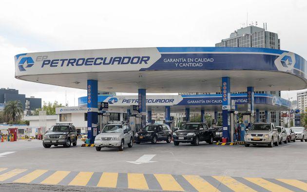 El presidente Moreno anunció el aumento del combustible dentro de un paquete de medidas económicas. Foto: archivo