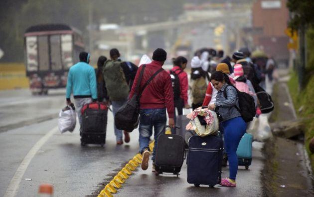 En términos de cantidad, la migración de venezolanos ya ha superado el éxodo de cubanos. Foto: AFP