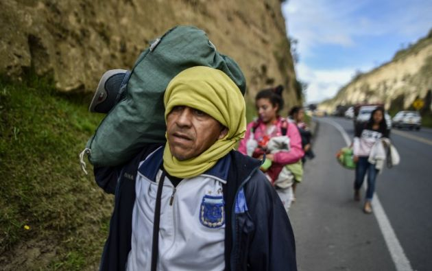 Según la ONU, 2,3 millones de venezolanos (7,5% de la población de 30,6 millones) vive en el exterior. Foto: AFP