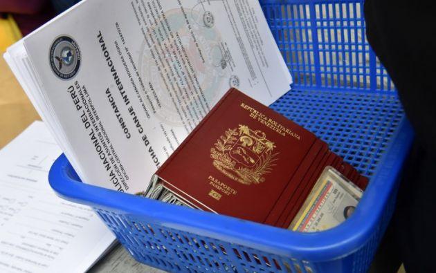 La afluencia de venezolanos se incrementó a inicios del segundo semestre del año. Foto: AFP