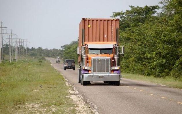El hallazgo tuvo lugar el 29 de agosto en un control rutinario, en el que detuvieron a la conductora del camión. | Foto: Referencial.