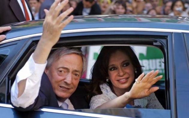 Los fondos habían sido aportes a las campañas electorales de los Kirchner. Foto: archivo AFP