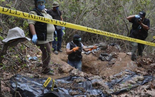 La fiscalía persigue a una red de exfuncionarios involucrados en casos de desapariciones forzadas. Foto: referencial