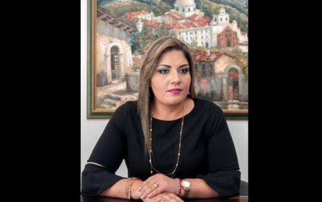 La riobambeña Marisol Andrade ascendió en mayo pasado a la dirección general del SRI. Foto: Segundo Espín