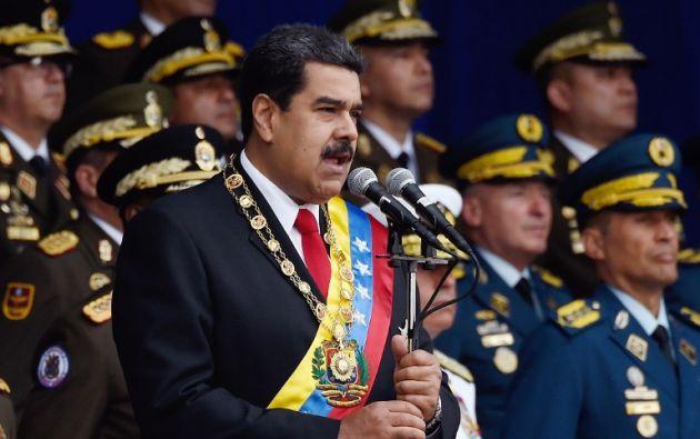 Maduro ha hecho responsable a Estados Unidos por muchos de sus problemas. Foto: AFP