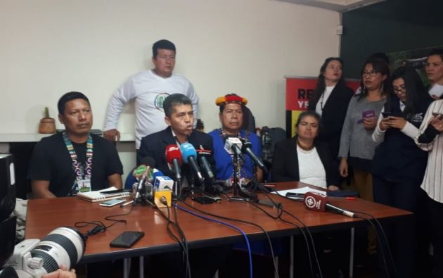 """El abogado de los demandantes, Pablo Fajardo, formuló un llamamiento """"a los colectivos de todo el mundo"""". Foto: Twitter"""