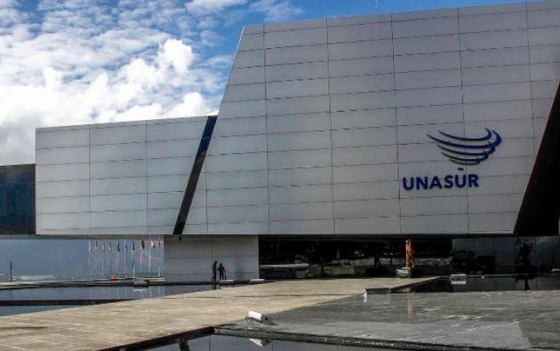Moreno anunció en julio pasado que pedirá a la Unasur que devuelva el edificio para convertirlo en un centro de estudios superiores indígenas. Foto: archivo Agencia Andes
