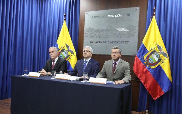 La obra busca desarrollar la potencia turística del Ecuador. Foto: Twitter Secom