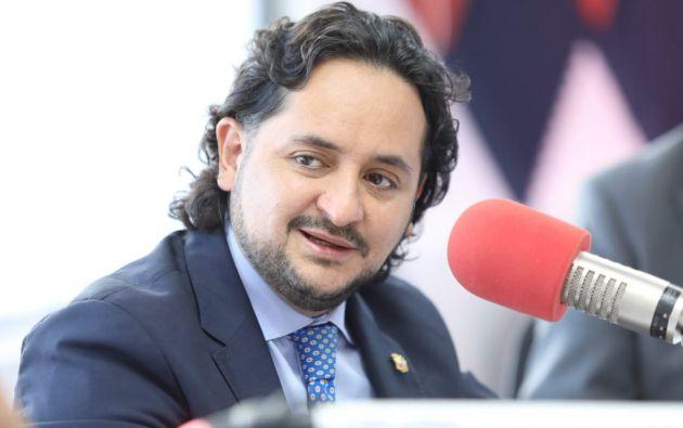 Andrés Michelena, secretario Nacional de Comunicación. Foto: archivo