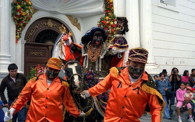 """La fiesta es conocida también como la """"Santísima tragedia"""" y rinde honor a la Virgen de La Merced. Foto: Flickr José Pereira"""