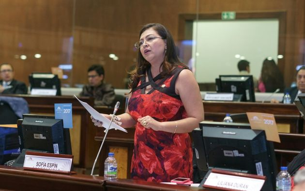 ECUADOR.- A través de su abogado, Espín pidió diferir versión por visita a procesada en caso Balda. Foto: Flickr Asamblea