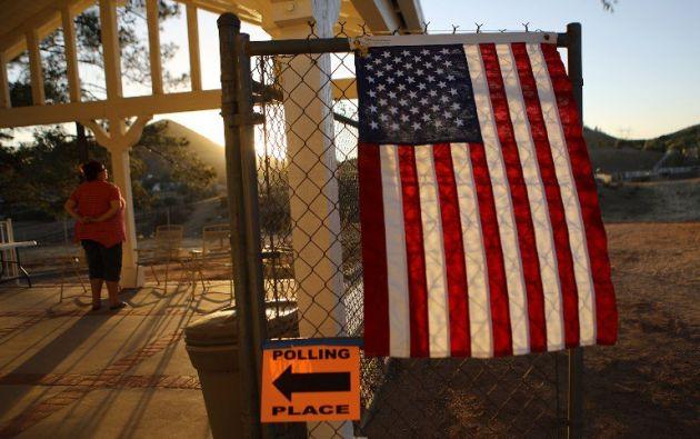 EEUU eligió un Congreso dividido en elecciones. Foto: AFP