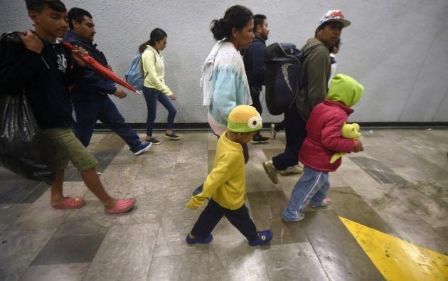 Se eleva el riesgo de fenómenos como el de la trata y el tráfico de personas. Foto: AFP