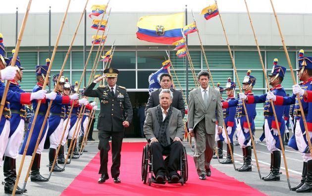 """""""La Cumbre es un espacio que tiene una agenda especial centrada en la cooperación desde una visión social"""", destacó el mandatario. Foto: Flickr Presidencia"""
