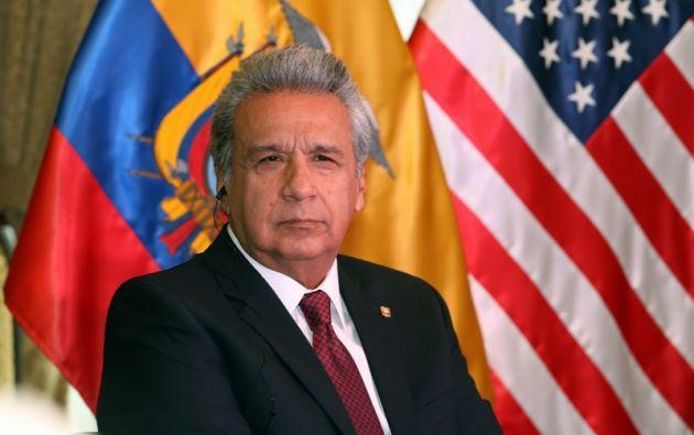 La reunión de Moreno y Manafort tuvo lugar en Quito, después de que Trump ya hubiera sido elegido como presidente. Foto: Flickr Presidencia