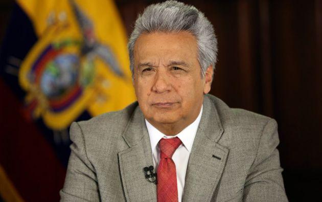 """El jefe de Estado pidió dejar que las """"instancias correspondientes hagan su trabajo"""". Foto: Twitter @ComunicacionEc"""