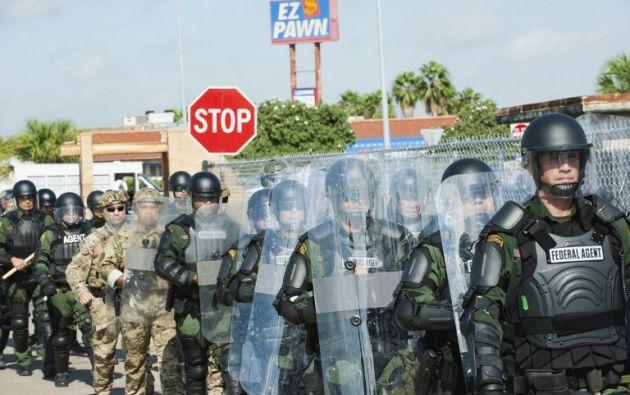 Fontera México - Estados Unidos. Foto: AFP