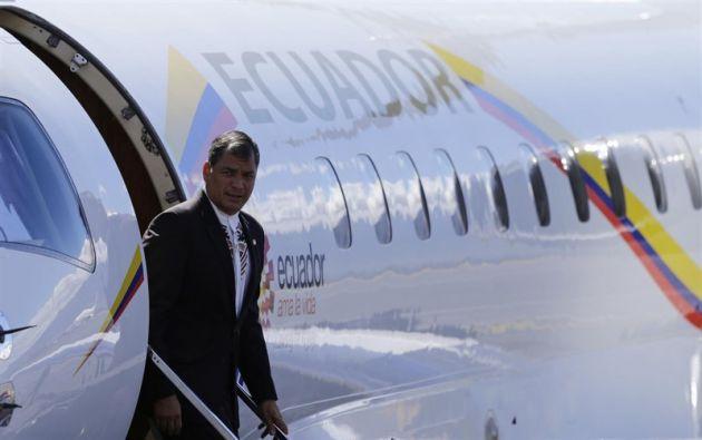 Según la entidad, los vuelos entre 2012 y 2017 costaron $ 13 millones 500 mil. Foto: Reuters