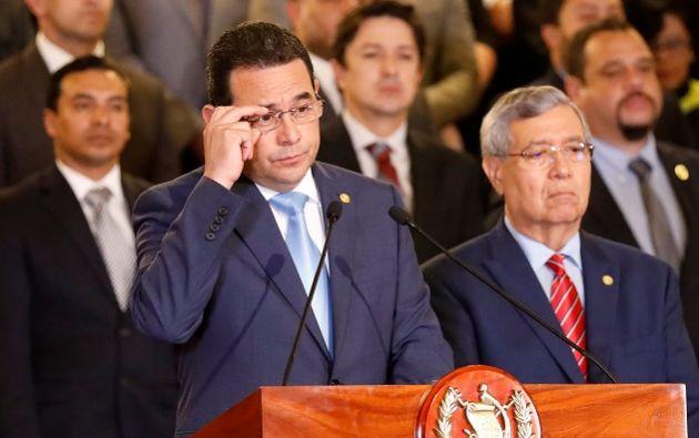 El gobernante ha sido hostil con el trabajo de la Cicig desde el comienzo de su mandato en 2016. Foto: Reuters