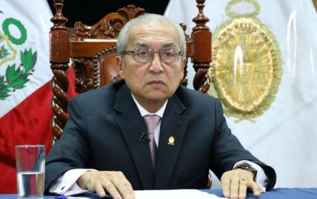 Chávarry renunció asediado por las protestas de ciudadanos autodenominados indignados. Foto: AFP