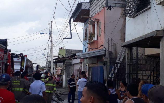 Al menos 18 muertos y ocho heridos dejó el incendio. Foto: Twitter Fiscalía