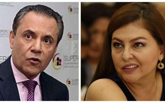 Carlos Ochoa y Sofía Espín. Foto: archivo