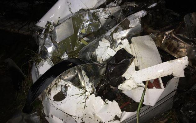 Según las investigaciones preliminares, la aeronave transportaba 35.200 gramos de clorhidrato de cocaína, en bloques que contenían un distintivo especial. Fotos: Fiscalía.