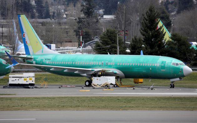 El Boeing 737 MAX es el avión que más rápido se ha vendido en la historia del fabricante aeronáutico estadounidense. Foto: Reuters.