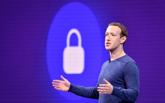 Mark Zuckerberg, fundador de Facebook. Foto: AFP