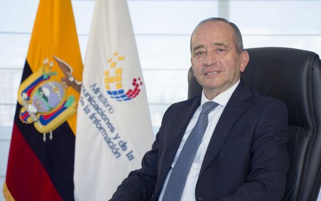 León estaba en el cargo desde que se posesionó Moreno como presidente de la República, en mayo del 2017. Foto: Ministerio de Telecomunicaciones