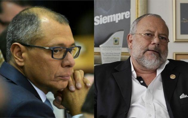 Glas y Pareja Yannuzzelli están detenidos en el Centro de Rehabilitación Social de Latacunga por otros delitos.