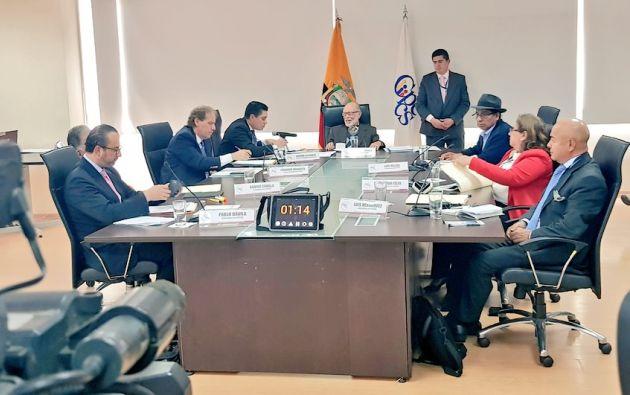 Diana Salazar fue ratificada como la mejor puntuada, dentro del concurso de fiscal general del Estado.